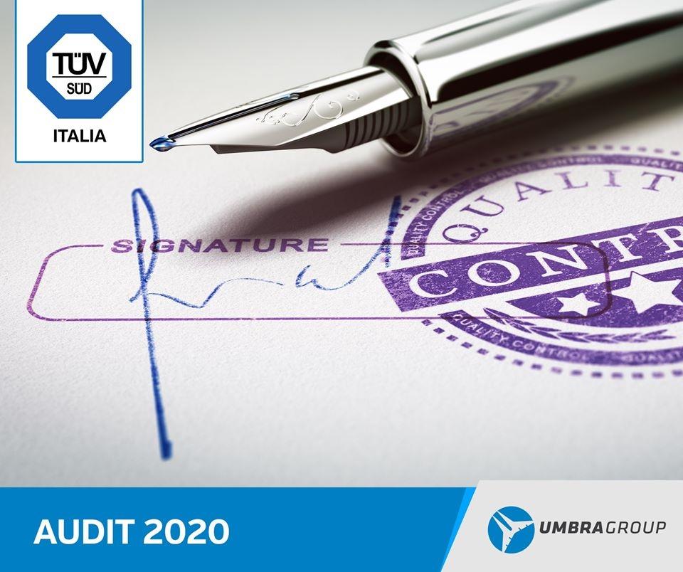 Audit for the ISO9001/EN9100 certification1