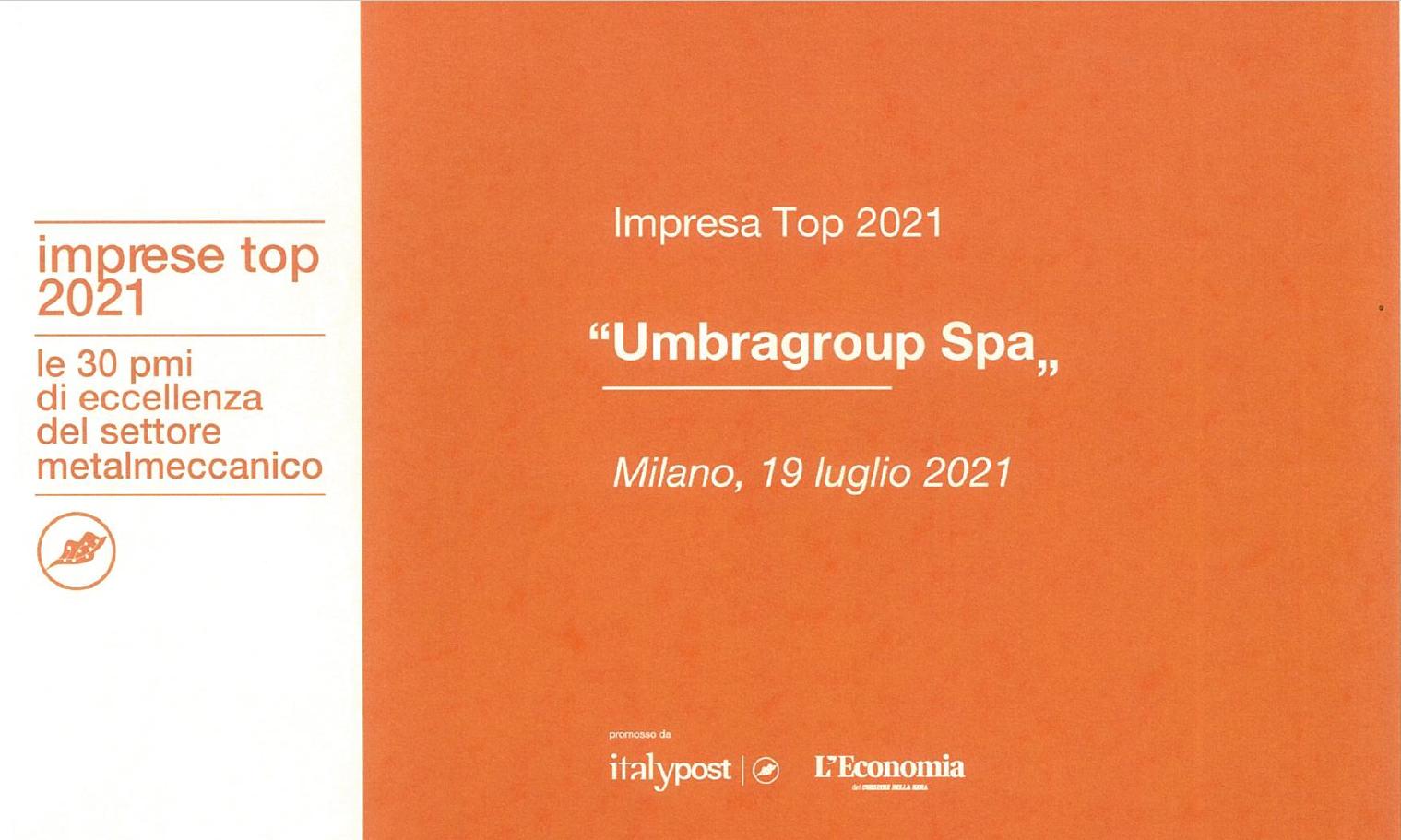 premio impresa top 20211