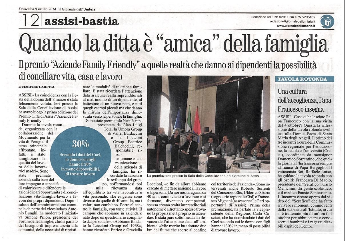 Premio Aziende Family Friendly1