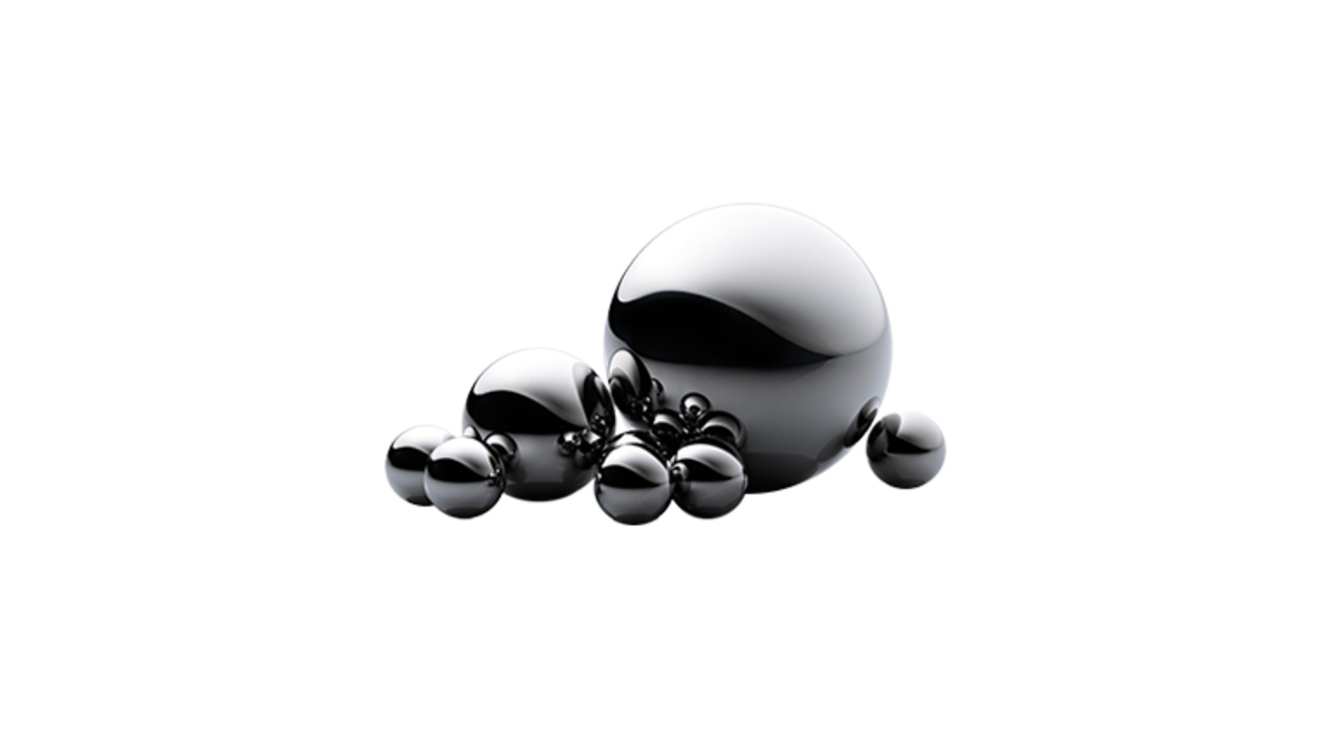sfere in acciaio